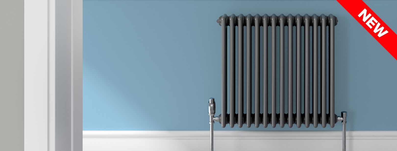 Coloured radiators becoming mainstream