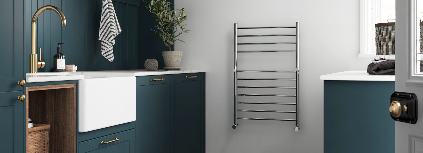 NEW - Stainless Steel Towel Rail